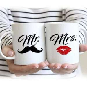 mr mrs couple mug