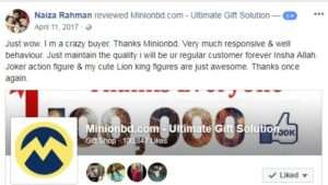 Minionbd.com Customer Review