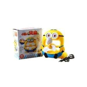 minion portable Rechargable mini fan