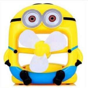 minion portable Rechargeable mini fan