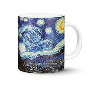 van gogh starry night mug