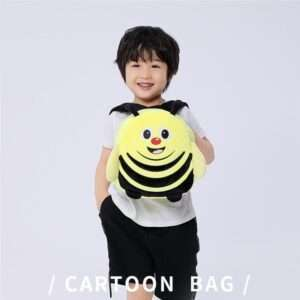 Children School Bag Yellow Bee