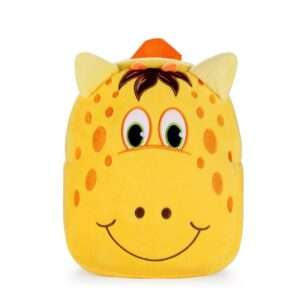 Children School Bag Yellow Giraffe