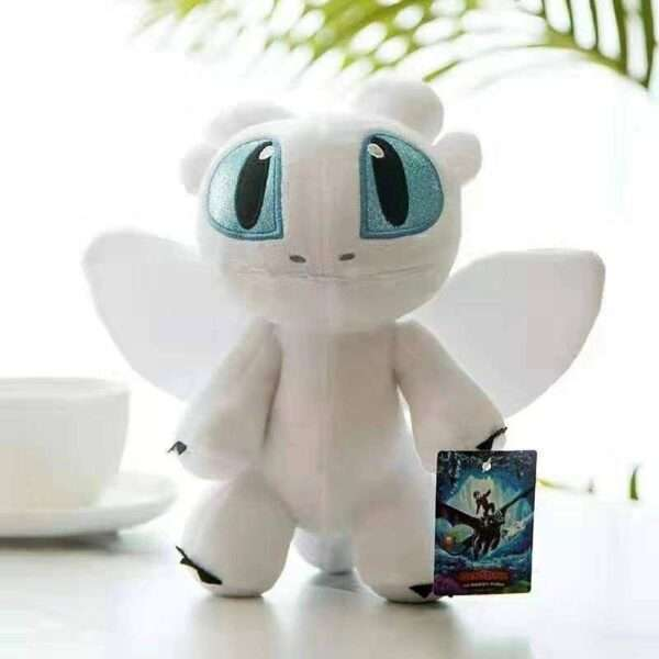 tooth less night fury how to train your dragon soft doll