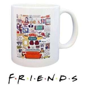 Friends TV Series Mug Like Character