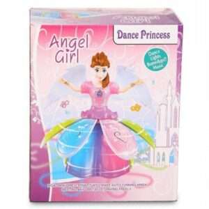 Dancing Angel Princes Girl with Flashing Lights and Music
