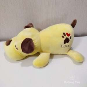 sleeping doll yellow plush toy doll