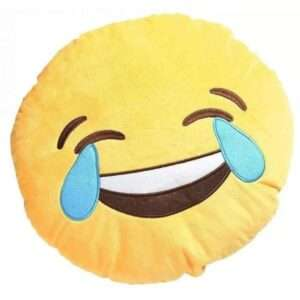 emoji doll cusion laugh