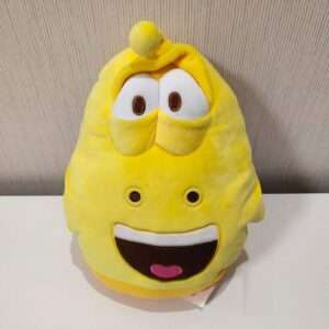 Larva yellow bug plush doll