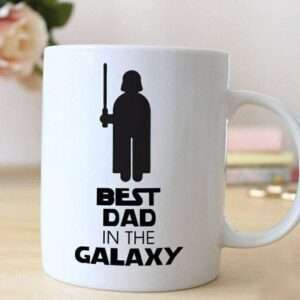 Best Dad in the Galaxy Mug