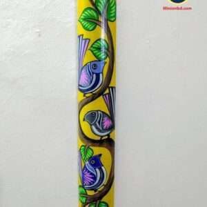 Bamboo Hand Painting art wall decor Craft gift 4